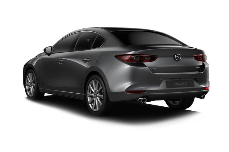 Mazda Mazda3 Saloon 2.0 SKYACTIV-X MHEV 180PS SE-L 4Dr Manual [Start Stop] back view