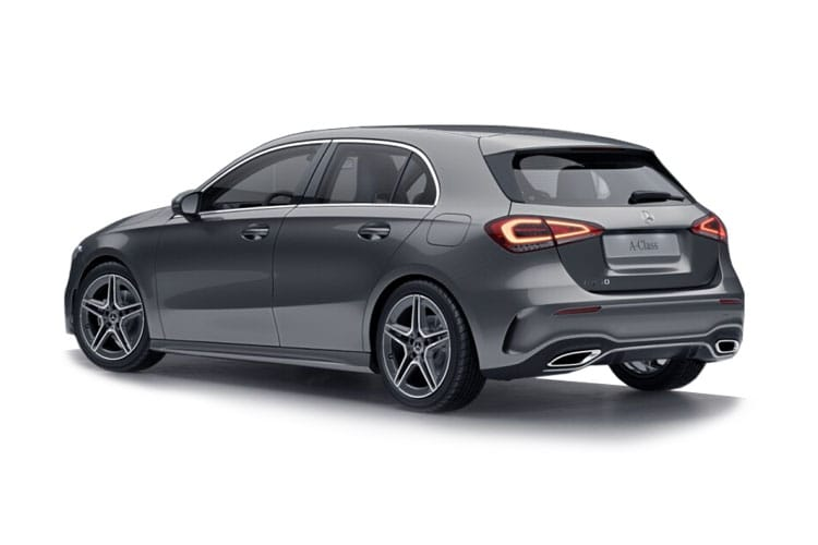Mercedes-Benz A Class A200 Hatch 5Dr 2.0 d 150PS Exclusive Edition 5Dr 8G-DCT [Start Stop] back view