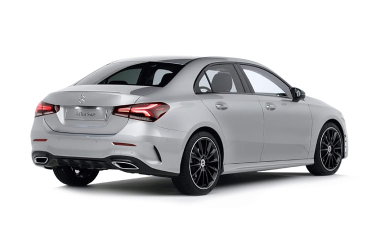 Mercedes-Benz A Class A180 Saloon 4Dr 1.5 d 116PS AMG Line Premium 4Dr 7G-DCT [Start Stop] back view