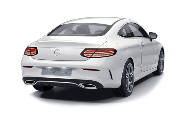 Mercedes-Benz C Class C300 Coupe 2.0  258PS AMG Line Premium 2Dr G-Tronic+ [Start Stop] back view