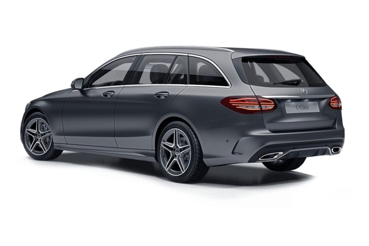 Mercedes-Benz C Class C300 Estate 4MATIC 2.0 d 245PS AMG Line Night Edition 5Dr G-Tronic+ [Start Stop] [Premium] back view