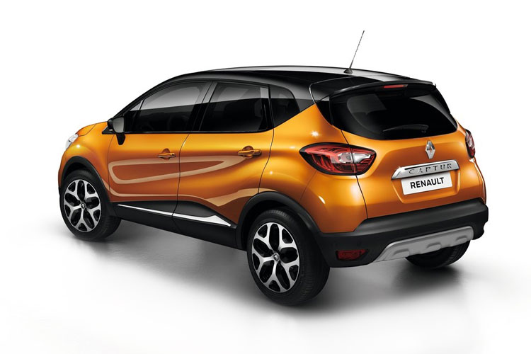 Renault Captur SUV 1.0 TCe 90PS S Edition 5Dr Manual [Start Stop] back view