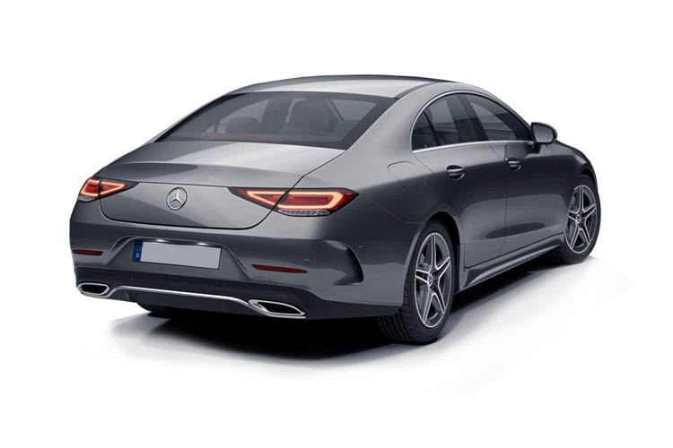 Mercedes-Benz CLS AMG CLS53 Coupe 4MATIC+ 4Dr 3.0 MHEV 457PS  4Dr SpdS TCT [Start Stop] back view