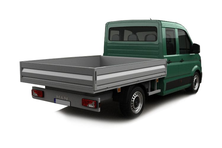 MAN TGE 3.140 3.5t Standard 4x4 2.0 d 4WD 140PS  Chassis Double Cab Manual [Start Stop] back view