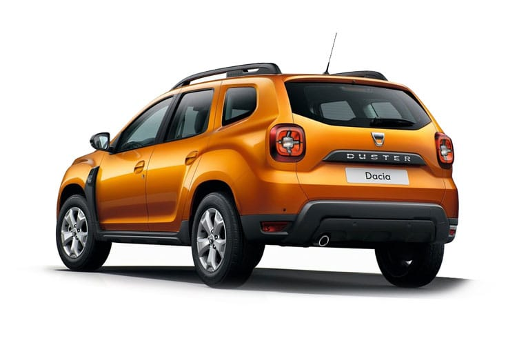Dacia Duster SUV 2wd 1.5 Blue dCi 115PS Techroad 5Dr Manual [Start Stop] back view