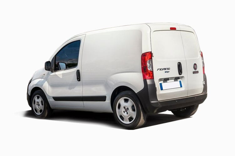 Fiat Fiorino Cargo 1.3 MultijetII FWD 80PS Sportivo Van Manual [Start Stop] back view