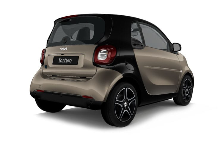 Smart ForTwo EQ ForTwo Coupe 2Dr Elec Drv 17.6kWh 60KW 82PS Exclusive 2Dr Auto [22kW Charger] back view