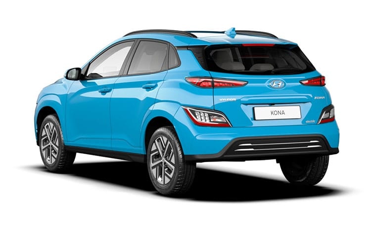 Hyundai KONA SUV Elec 39kWh 100KW 136PS SE Connect 5Dr Auto [10.5kW Charger] back view