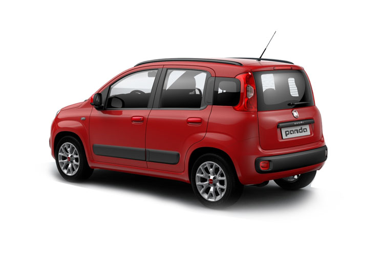 Fiat Panda Hatch 5Dr 1.0 MHEV 70PS Trussardi 5Dr Manual [Start Stop] back view