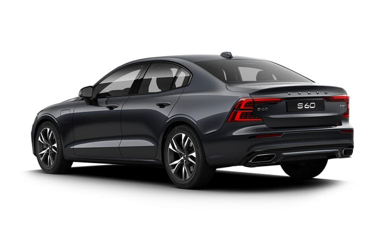 Volvo S60 Saloon AWD PiH 2.0 h T8 Twin Engine 11.6kWh 390PS R DESIGN Plus 4Dr Auto [Start Stop] back view