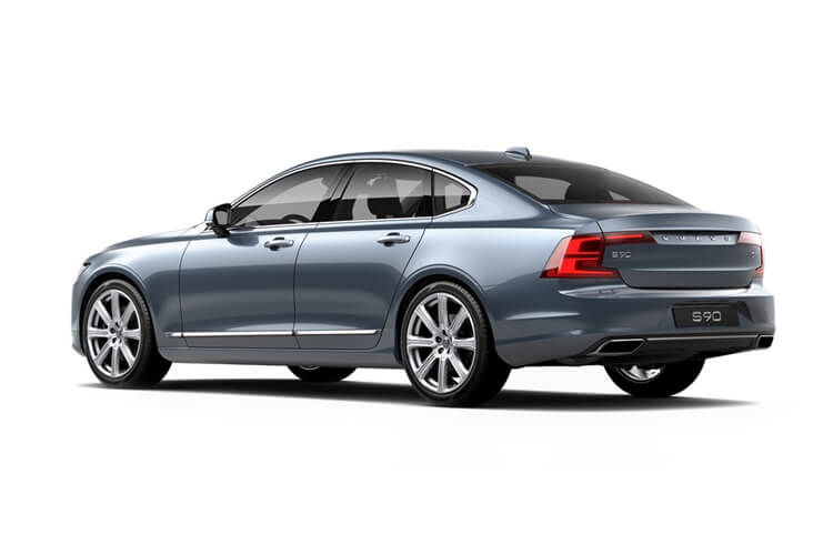 Volvo S90 Saloon AWD PiH 2.0 h T8 11.6kWh 390PS Inscription 4Dr Auto [Start Stop] back view