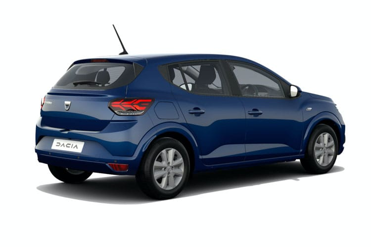 Dacia Sandero Hatch 5Dr 1.0 TCe Bi-Fuel 100PS Comfort 5Dr Manual [Start Stop] back view
