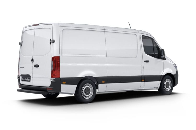 Mercedes-Benz Sprinter 314 L3 3.5t 2.1 CDi RWD 143PS  Van Extra High Roof Manual [Start Stop] back view