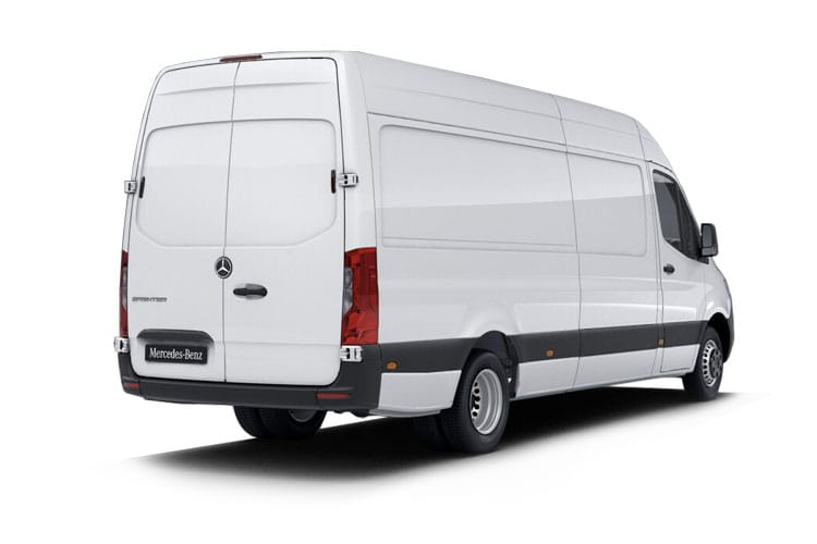 Mercedes-Benz Sprinter 316 L3 3.5t 2.1 CDi RWD 163PS Premium Van High Roof Manual [Start Stop] back view