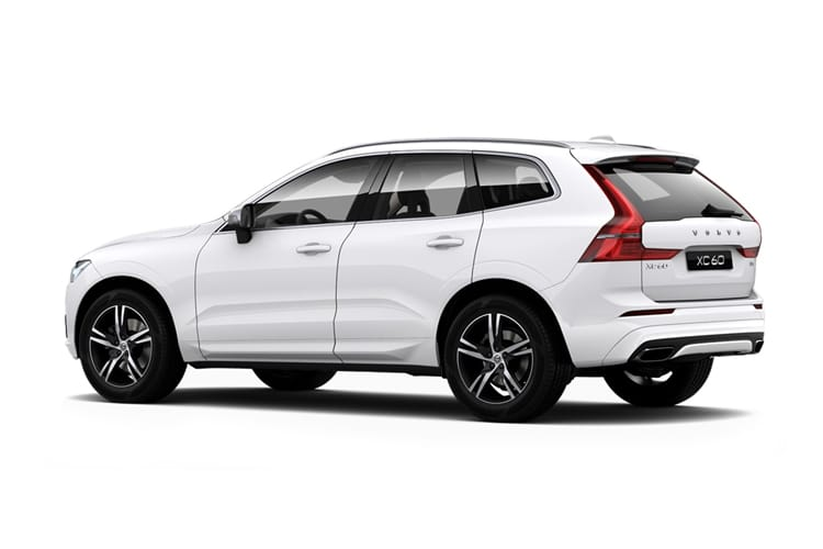 Volvo XC60 SUV 2.0 B5 MHEV 250PS R DESIGN 5Dr Auto [Start Stop] back view