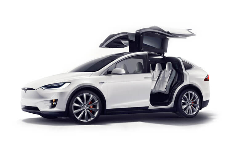 Tesla Model X SUV 5Dr Tri Motor Elec 761KW 1020PS Plaid 5Dr Auto [7Seat] detail view
