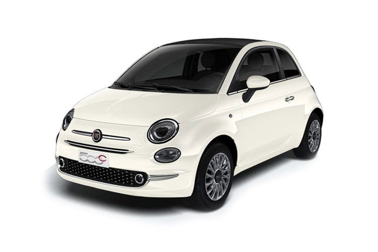 Fiat 500 C Convertible 1.0 MHEV 70PS Sport 2Dr Manual [Start Stop] front view