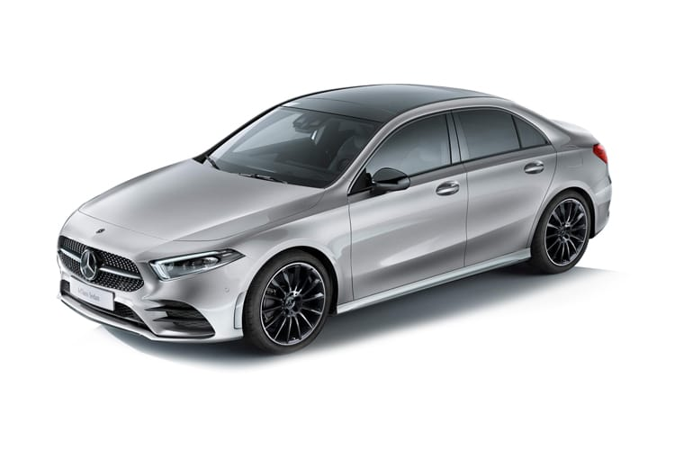 Mercedes-Benz A Class A180 Saloon 4Dr 1.5 d 116PS AMG Line Premium 4Dr 7G-DCT [Start Stop] front view