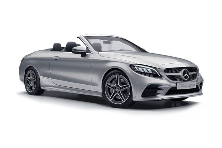 Mercedes-Benz C Class AMG C63 Cabriolet 4.0 V8 BiTurbo 510PS S 2Dr SpdS MCT [Start Stop] front view