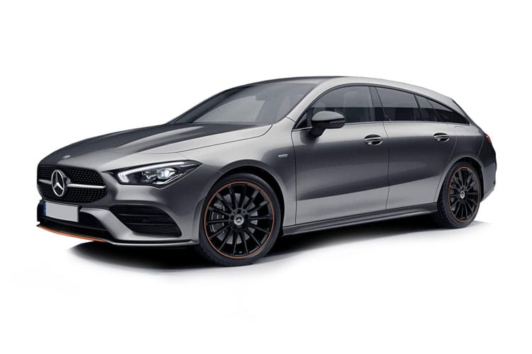 Mercedes-Benz CLA CLA220 Shooting Brake 2.0 d 190PS AMG Line 5Dr 8G-DCT [Start Stop] front view