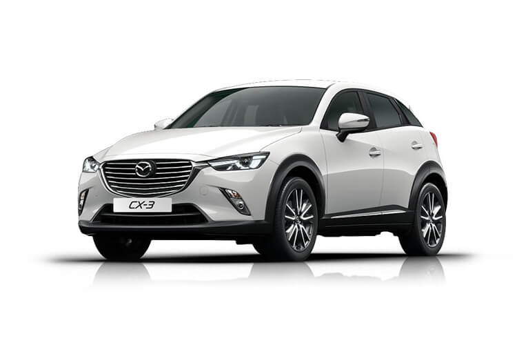 Mazda CX-3 SUV 2.0 SKYACTIV-G 121PS SE-L Nav+ 5Dr Manual [Start Stop] front view