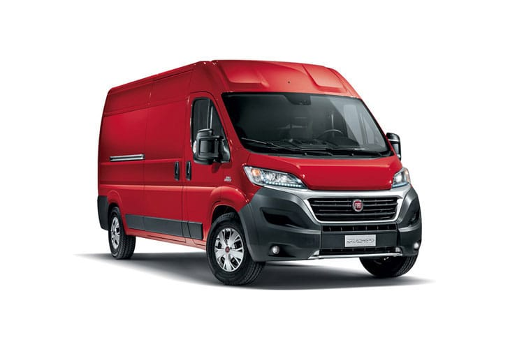 Fiat Ducato HGV e-Ducato 42 XLB LWB Elec 47kWh 90KW FWD 122PS  Van Extra High Roof Auto [7kW Charger] front view