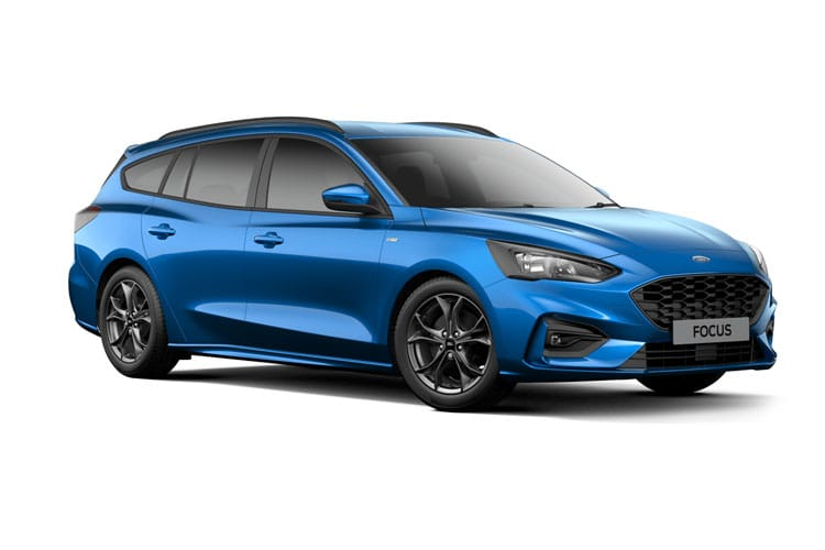 Ford Focus Estate 1.0 T EcoBoost MHEV 125PS Active X Edition 5Dr Manual [Start Stop] front view
