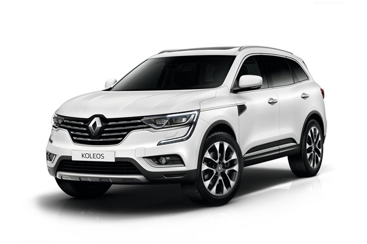 Renault Koleos SUV 4wd 2.0 Blue dCi 190PS GT Line 5Dr X-Trn A7 [Start Stop] front view