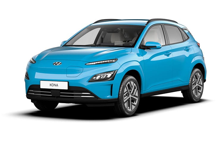 Hyundai KONA SUV Elec 39kWh 100KW 136PS SE Connect 5Dr Auto [10.5kW Charger] front view