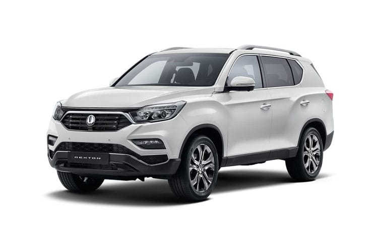 Ssangyong Rexton SUV 4wd Selectable 2.2 D 181PS Ice 5Dr T-Tronic [7 Seat] front view