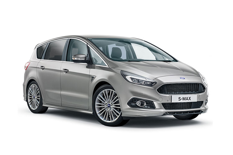 Ford S-MAX MPV AWD 2.0 EcoBlue 190PS Vignale 5Dr Auto [Start Stop] front view