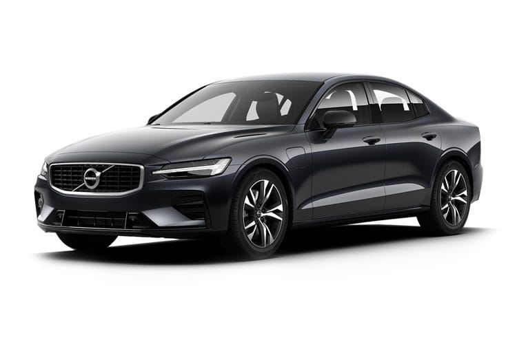 Volvo S60 Saloon AWD PiH 2.0 h T8 Twin Engine 11.6kWh 390PS R DESIGN Plus 4Dr Auto [Start Stop] front view