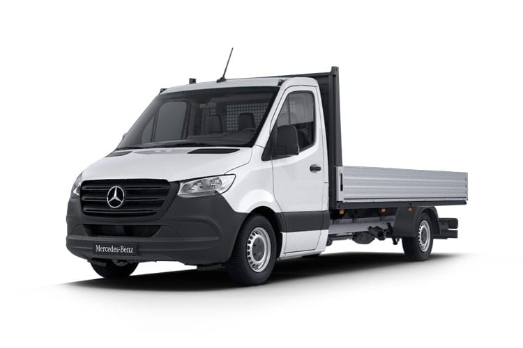 Mercedes-Benz Sprinter 316 L3 3.5t AWD 2.1 CDi 4WD 163PS  Dropside Manual front view