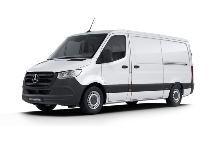 Mercedes-Benz Sprinter 316 L3 3.5t 2.1 CDi RWD 163PS Progressive Van Extra High Roof G-Tronic [Start Stop] front view