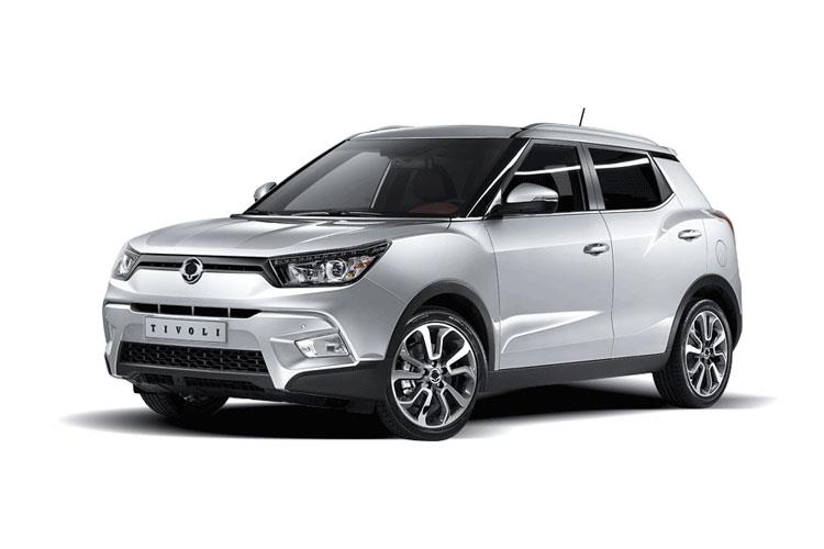 Ssangyong Tivoli SUV 5Dr 1.6 D 115PS LE 5Dr Manual front view