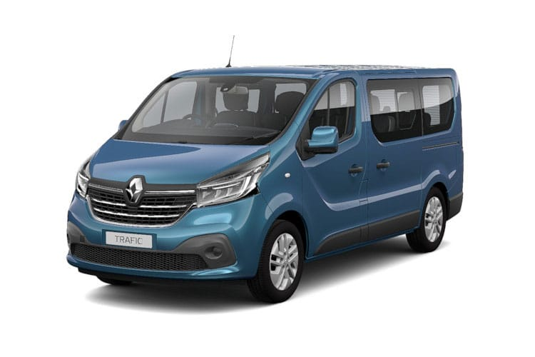 Renault Trafic 30 LWB MiniBus M1 2.0 dCi FWD 170PS Sport Nav Minibus EDC [Start Stop] [9Seat] front view