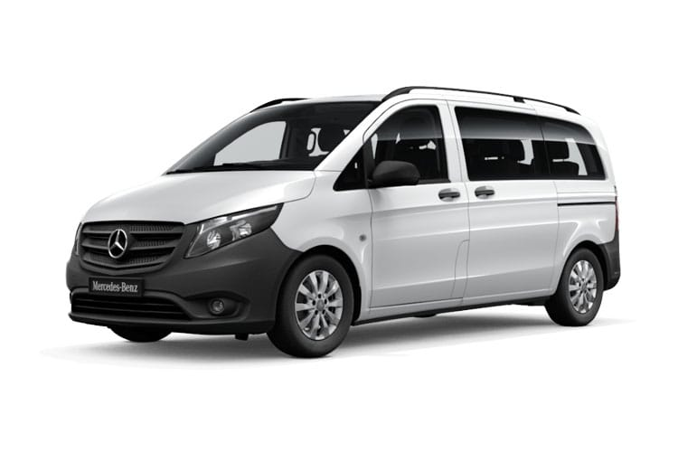 Mercedes-Benz Vito Tourer 114 L3 M1 FWD 1.7 CDi FWD 136PS SELECT Minibus Manual [Start Stop] [9Seat] front view