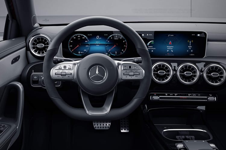 Mercedes-Benz A Class A180 Saloon 4Dr 1.5 d 116PS AMG Line Premium 4Dr 7G-DCT [Start Stop] inside view