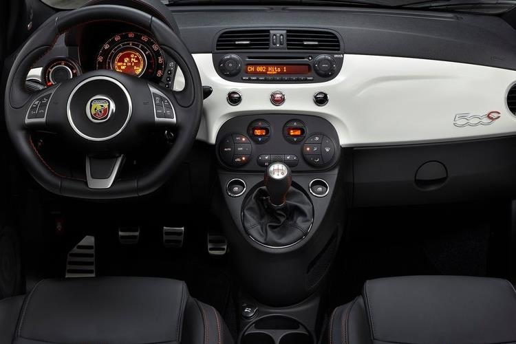 Abarth 595 C Cabrio 1.4 T-Jet 180PS Competizione 70th 2Dr Manual inside view