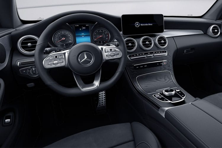 Mercedes-Benz C Class C300 Coupe 2.0  258PS AMG Line Premium 2Dr G-Tronic+ [Start Stop] inside view