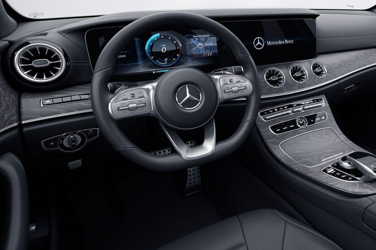 Mercedes-Benz CLS AMG CLS53 Coupe 4MATIC+ 4Dr 3.0 MHEV 457PS  4Dr SpdS TCT [Start Stop] inside view