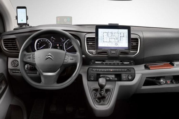 Citroen Dispatch M 1400Kg 2.0 BlueHDi FWD 120PS Enterprise Van Manual [Start Stop] inside view
