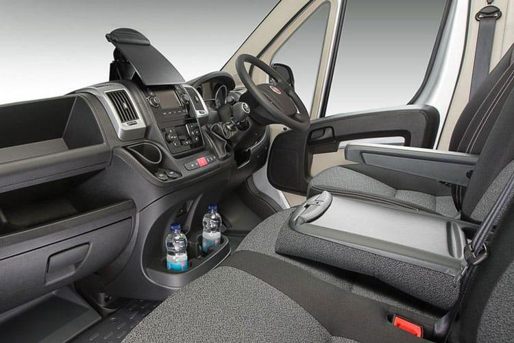 Fiat Ducato HGV e-Ducato 42 XLB LWB Elec 47kWh 90KW FWD 122PS eTecnico Chassis Cab Auto [11kW Charger] inside view