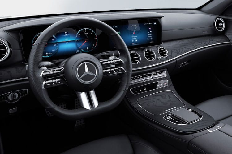 Mercedes-Benz E Class E300e Estate 2.0 d PiH 13.5kWh 306PS AMG Line Night Edition 5Dr G-Tronic+ [Start Stop] [Premium Plus] inside view