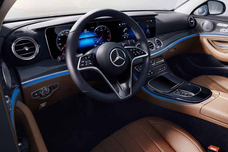 Mercedes-Benz E Class E200 Saloon 2.0 MHEV 211PS Sport 4Dr G-Tronic+ [Start Stop] inside view