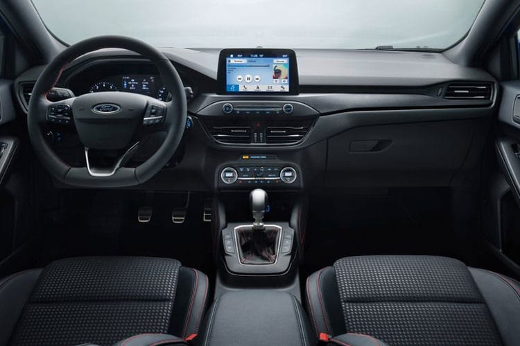 Ford Focus Estate 1.0 T EcoBoost MHEV 125PS Active X Edition 5Dr Manual [Start Stop] inside view