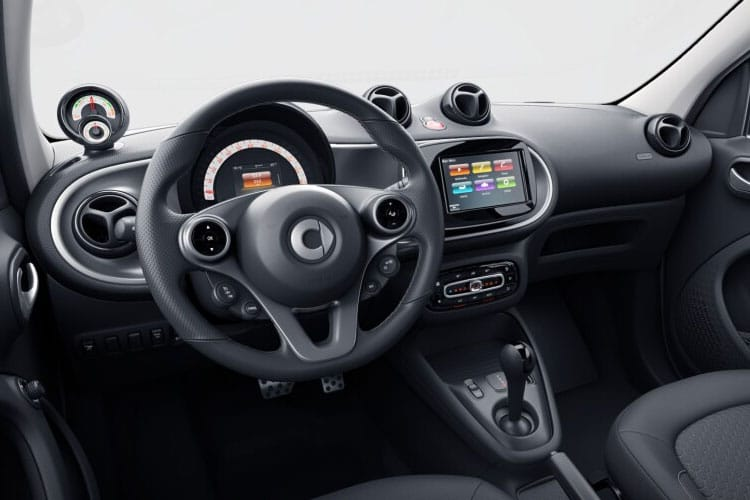 Smart ForFour EQ ForFour Hatch 5Dr Elec Drv 17.6kWh 60KW 82PS Passion Advanced 5Dr Auto [22kW Charger] inside view