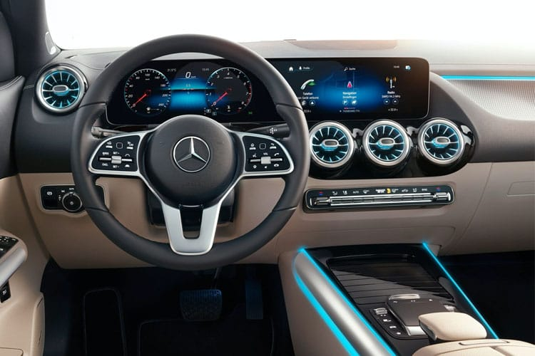 Mercedes-Benz GLA GLA200 SUV 4MATIC 2.0 d 150PS AMG Line 5Dr 8G-DCT [Start Stop] inside view