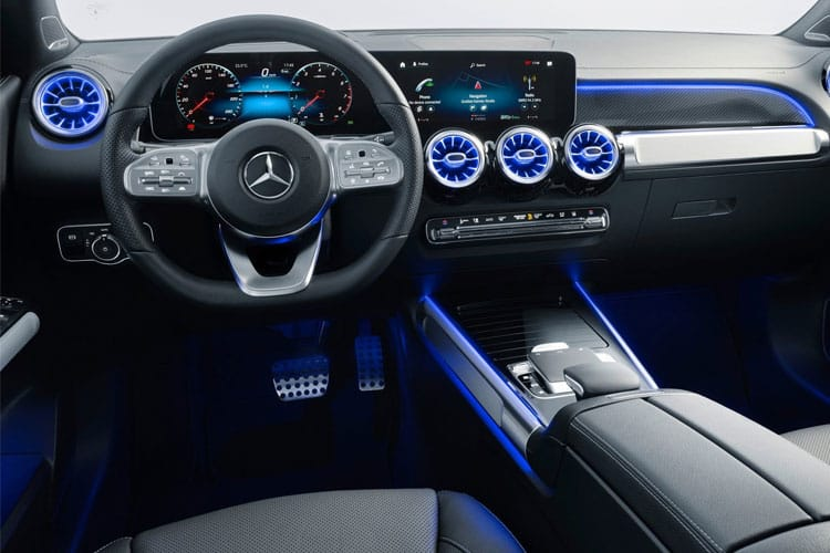 Mercedes-Benz GLB AMG GLB35 SUV 4MATIC 2.0  306PS Premium Plus 5Dr G-Tronic [Start Stop] inside view