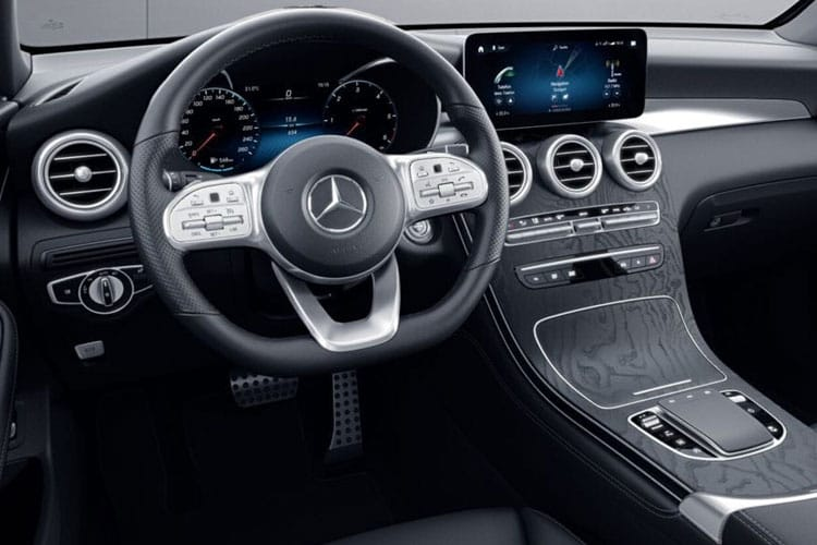 Mercedes-Benz GLC GLC300 SUV 4MATIC 2.0 MHEV 272PS Sport 5Dr G-Tronic+ [Start Stop] inside view